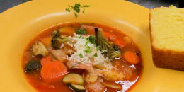 Ginger Quiona Vegetable Soup