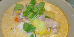 Thai-style Chicken Curry